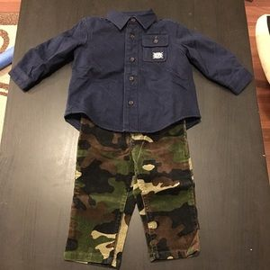 Polo Ralph Lauren 2-Piece Jacket Corduroy Camo